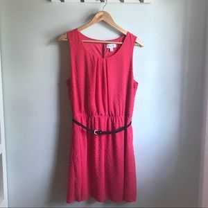 Pink above the knee Elle dress